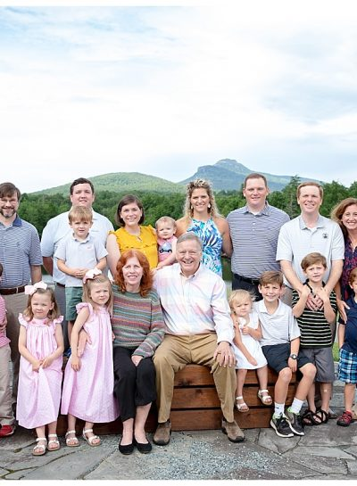 Long Family Portraits | The Camp at Eseeola | Linville, NC