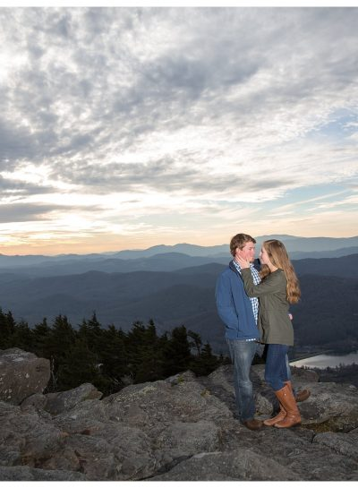 Bailey and Brett | Engagement | Grandfather Mountain